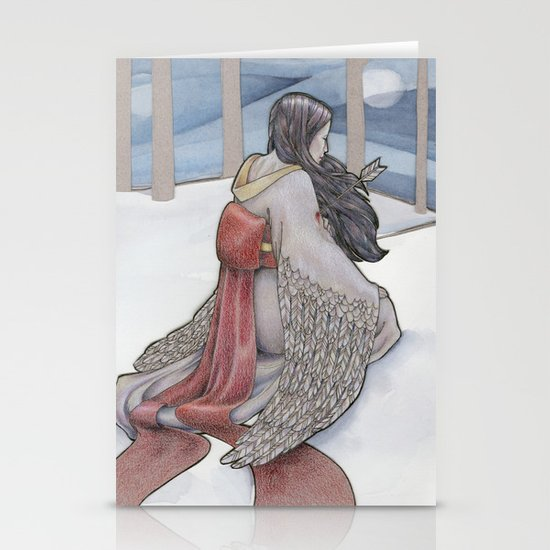 The Crane Wife Stationery Cards