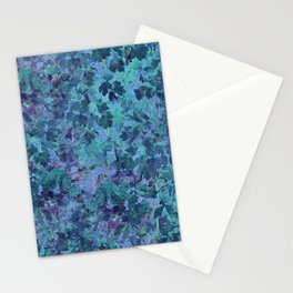 Water Leaves Stationery Cards