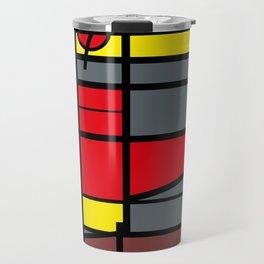 Edificio de comunicaciones UCV -Detail- Travel Mug