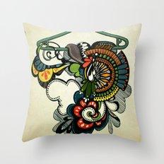 Never Throw Pillow