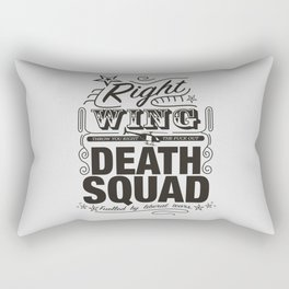 Right Wing Death Squad 7 Rectangular Pillow