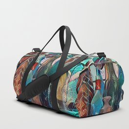Bottle Collection Duffle Bag