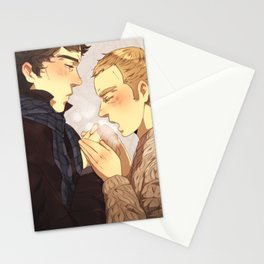 Warm up, Holmes Stationery Cards