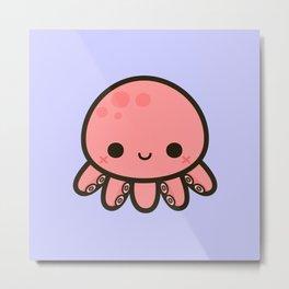 Cute octopus Metal Print