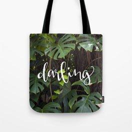 Darling | Monstera Style Tote Bag