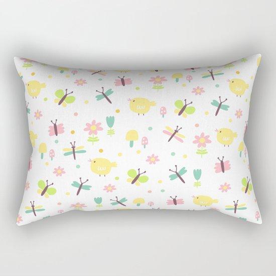 Sweet Fly Rectangular Pillow