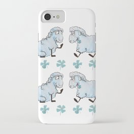 Three Leaves Clover iPhone Case