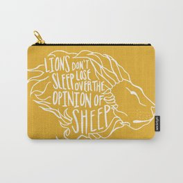 Lions don't lose sleep Carry-All Pouch