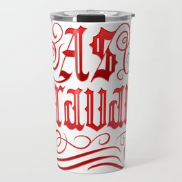 AS TRAVARS Travel Mug