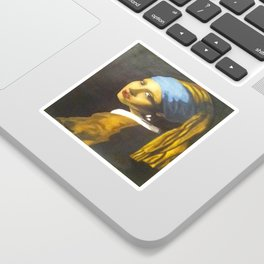 Girl with the Pearl Earring Original Sticker