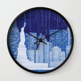 New York, Statue of Liberty Wall Clock