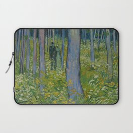 Undergrowth with Two Figures Laptop Sleeve