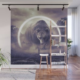 aegis II | bear Wall Mural