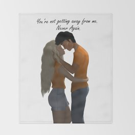 Percabeth Throw Blanket