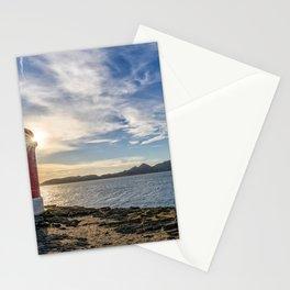 Punta Robaleira Lighthouse Stationery Cards