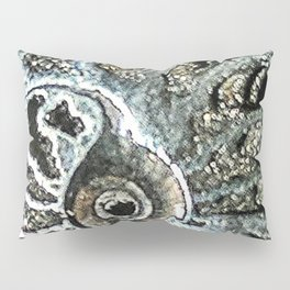 Pyrite after Ammonite Pillow Sham