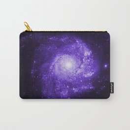 Pinwheel Galaxy Ultraviolet Carry-All Pouch