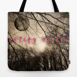identify as tired Tote Bag