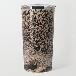 Coy hedgehog Travel Mug