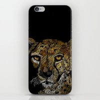 cheetah iPhone & iPod Skins featuring cheetah  by JosephMills
