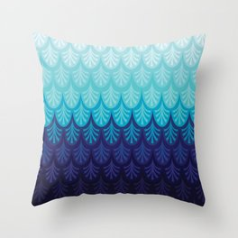 Arctic Ombre! Throw Pillow