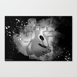 TO THE WALL Canvas Print