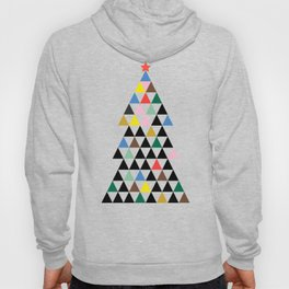 Geometric Christmas Tree Hoody