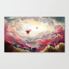Zeppelins Canvas Print