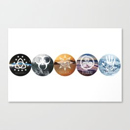 Five of Thirteen Alternate - The 100 Canvas Print