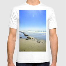 Into the Sea Mens Fitted Tee MEDIUM White