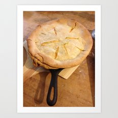 farm house pie Art Print