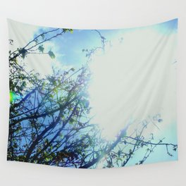 Reaching for the Light Wall Tapestry