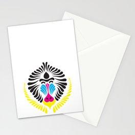 CMYK mandrill Stationery Cards