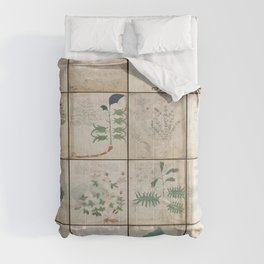The Voynich Manuscript Quire 1 - Natural Comforters