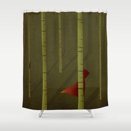 Little Red Ridding Hood Shower Curtain