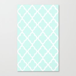 White Rombs #13 The Best Wallpaper Canvas Print