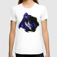 teen titans T-shirts featuring Teen Titans: Raven by JaDis