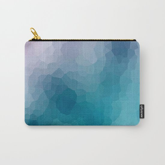 "Abstract pattern "" Amethyst "". Carry-All Pouch"