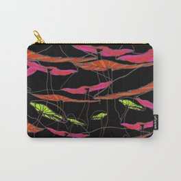 forest of the magic mushrooms at night  Carry-All Pouch
