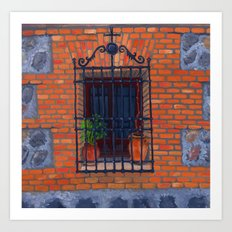 Toledo window Art Print