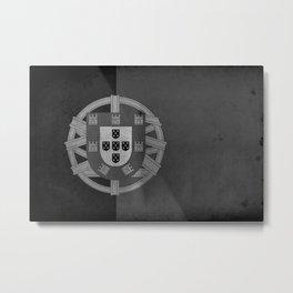 Portugal - Black&White Metal Print