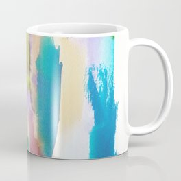 180812 Abstract Watercolour Expressionism 10 | Colorful Abstract | Modern Watercolor Art Coffee Mug
