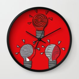 Jordan Lightbulb Soles Wall Clock