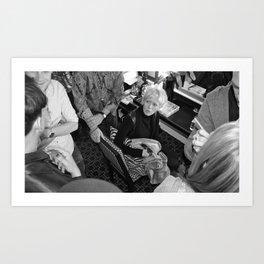 Celeb Series (Pt. 2 - Joanna Coles) Art Print