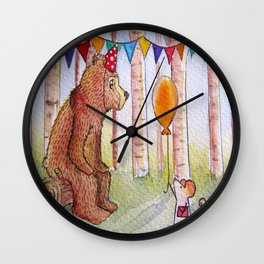 Laurence and Cheese Wall Clock