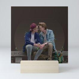 LOVE, EVAK. (dark version) Mini Art Print