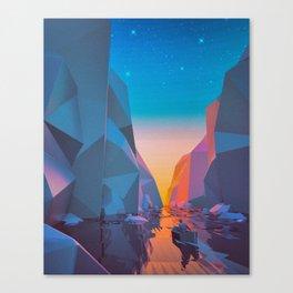 SHIP SAILED (everyday 03.26.16) Canvas Print
