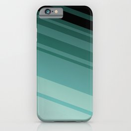Modern Abstract Colors - Teal Turquoise - Accent Color Decor - Lowest Price On Site iPhone Case