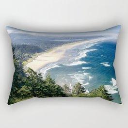 Coastline - Oregon Coast Rectangular Pillow