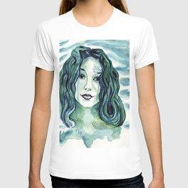 Maybe I'm A Mermaid (Tori Amos inspired art) T-shirt